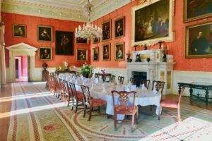 Weston Park dining room